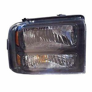 2005-2007 Ford F250 F350 F450 F550 Headlight Passenger Side Black Bezel With Harley-Davidson Package High Quality