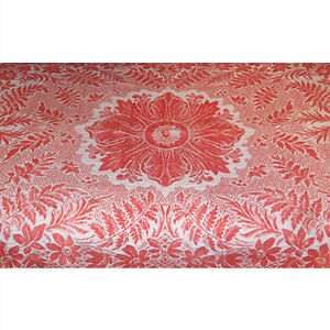 Antique Jacquard Coverlet