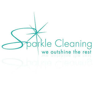 sparkle cleaning services!!Available now!