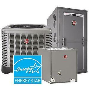 High Efficiency 96% FURNACE - FURNACE - Rent to Own - $0 down - NO Credit Check