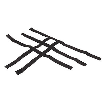 Comp Series Nerf Bars Replacement Webbing Black for Kawasaki