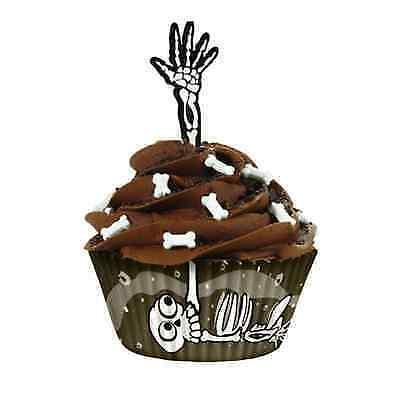 Skeleton Cupcake Kits on eBay