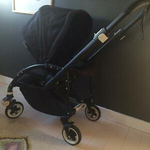 Poussette Bugaboo Bee + noire all black