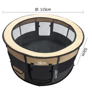 SOFT PET PLAYPEN - EXTRA LARGE free shipping