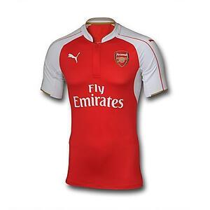 Arsenal soccer jerseys, season 2016, red color