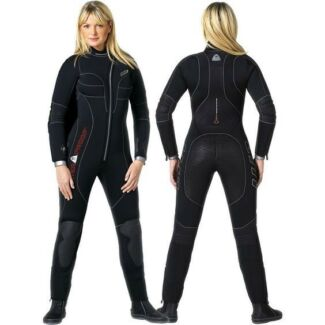 Scuba Semi-Dry Wetsuit WATERPROOF W1 5mm Women Size XS Used Once