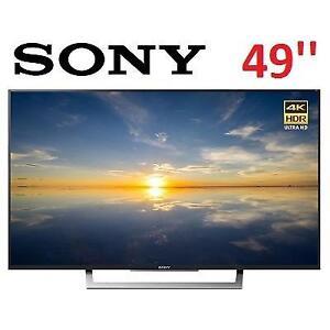 REFURB SONY 49''4K ULTRA HDTV XBR49X800D 132892935 SMART LED HDR XBR49X800D REFURBISHED