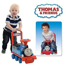 2 in 1 thomas ride on new boxed