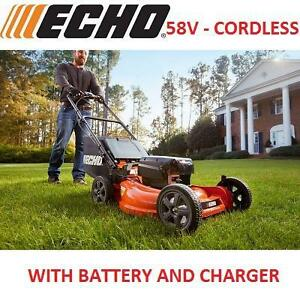 NEW* ECHO 21'' 58V CORDLESS MOWER - 119700455 - WITH BATTERY AND CHARGER