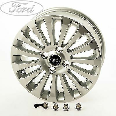 "Genuine Ford Fiesta MK7 16"" Inch 15 Spoke Alloy Wheel Silver 6.5J x 16 1495707"