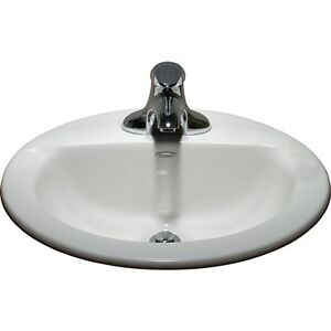 American Standard White Vanity Sink - New Never Installed