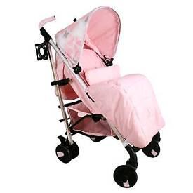 My Babiie Pink Butterfly Stroller