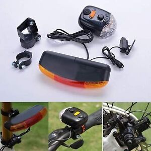 Light LED Bicycle Turning Indicator Brake Signal Tail Horn