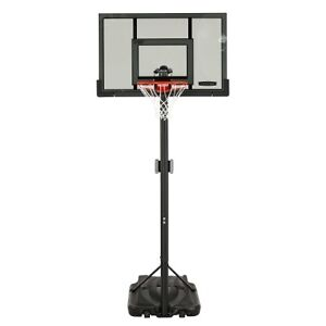 52 IN. PORTABLE BASKETBALL HOOP TINTED CLEARVIEW PORTABLE