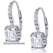 Micro Pave CZ Earrings
