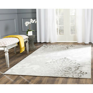 Adirondack Silver/Ivory Area Rug by Safavieh 3'x5'