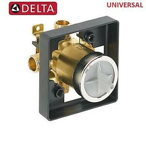NEW DELTA UNIVERSAL SHOWER VALVE R10000-UNWS 224062479 MULTICHOICE TUB BODY ROUGH IN KIT bathroom