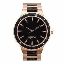 BNWT Mimco Black & Rose Gold Dietrich Watch Timepiece  RRP $349 Helensvale Gold Coast North Preview