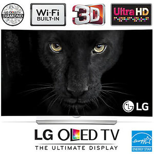 LG OLED 3D TV 4K Ultra HD Curvé Curved