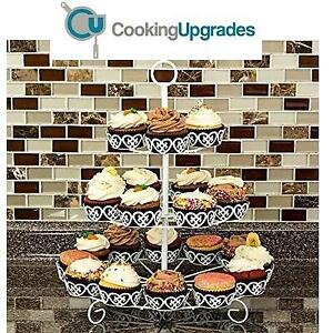 NEW COOKING UPGRADES CUPCAKE STAND CS124 246423387 HOLDER DISPLAY CS-1-24 COUNT