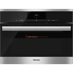 """MIELE DGC 6705 24"""" STEAM OVEN WITH FULLY-FLEDGED OVEN FUNCTION"""
