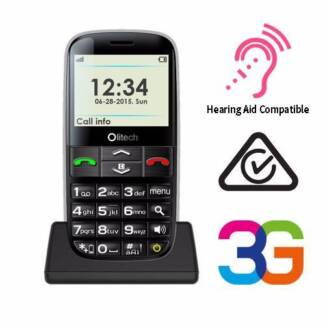 Mobile Phones For Seniors Big Buttons Unlocked SOS Large Screen