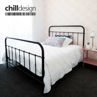 NEW Metal Bed Frames STOCK CLEARANCE Single, Double & Queen size