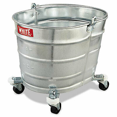 Metal Mop Bucket, 26 qt, Steel 260 260  - 1 Each
