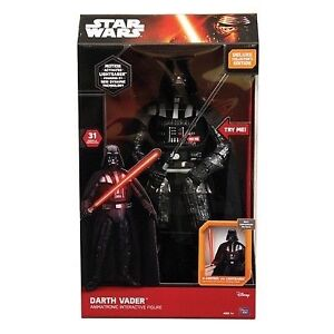 STAR WARS DARTH VADER INTERACTIVE TOY !!!