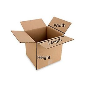 5 LARGE Cardboard House Moving Boxes - Removal Packing box Double wall - MORE THAN 20 AVAILABLE