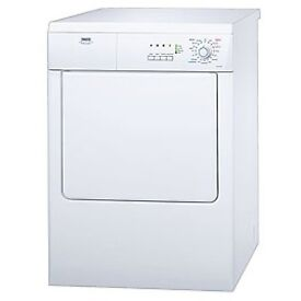 Zanussi ZDE57140W White 7KG Freestanding Vented Tumble Dryer - 3 Month Warranty