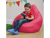 Bean Bag Bazaar Kids Gaming Chair, Indoor Outdoor, Pink, 69cm x 59cm