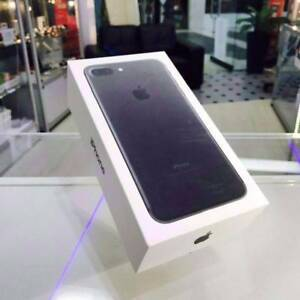 BRAND NEW SELAED IPHONE 7 PLUS 128GB BLACK WITH APPLE WARRANTY Surfers Paradise Gold Coast City Preview