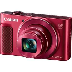 **CAMERA SALE** Canon  PowerShot SX620 HS Digital Camera - RED or SILVER