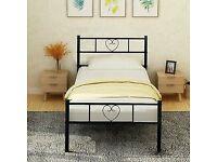 Single bed, black brand new,