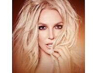 4x Britney Spears Tickets - Saturday 25 August - O2 London