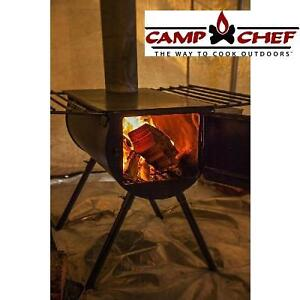 NEW CAMP CHEF HEAVY DUTY STOVE - 114673994 - ALPINE BLAC 9 INCH