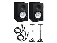 Brand New Yamaha HS5's with Stands
