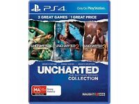 Uncharted - The Nathan Drake Collection for PS4 - As New