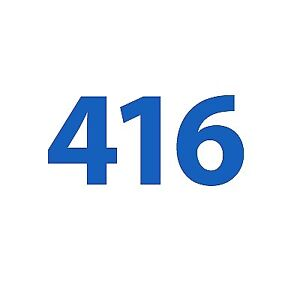 For Sale: 416 Number for ONLY $80 - FREE and CLEAR - NO CONTRACT