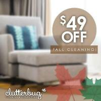 Fall Cleanings- Clutterbug Cleaning & Organizing