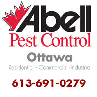 Guaranteed Pest Control Services for Ottawa/613-691-0279