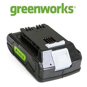 NEW GREENWORKS LITHIUM ION-BATTERY G-24 210840959 24 VOLT 2AH BLACK