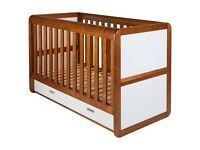 East Coast Rio Cot Bed with Mattress