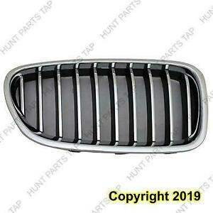 Grille Front Passenger Side Chrome 528 Models Without M Package/Night Vision BMW 5-Series 2014-2016