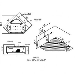 AM 156 - Whirlpool Bathtub for Two People Stratford Kitchener Area image 6