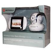 Motorola Digital Video Baby Monitor MBP33