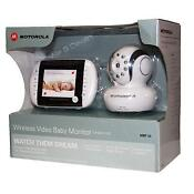 Motorola Digital Video Baby Monitor MBP33