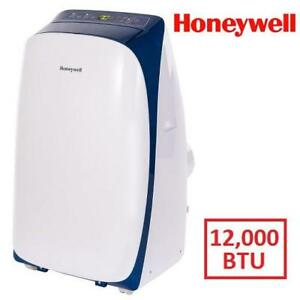 NEW HONEYWELL AIR CONDITIONER - 128001345 - PORTABLE 12,000 BTU WITH REMOTE CONTROL