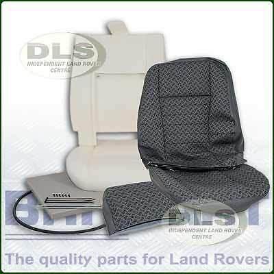 Techno Cloth Outer Seat Re-trim Kit w/o Glue Land Rover Defender to`07 (DA5628E)